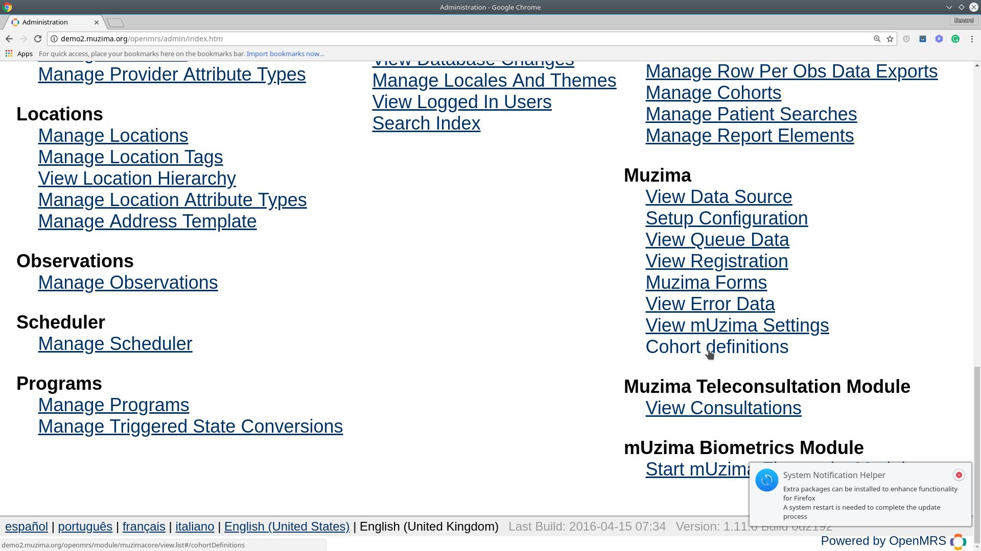 Confluence Mobile - mUzima Wiki